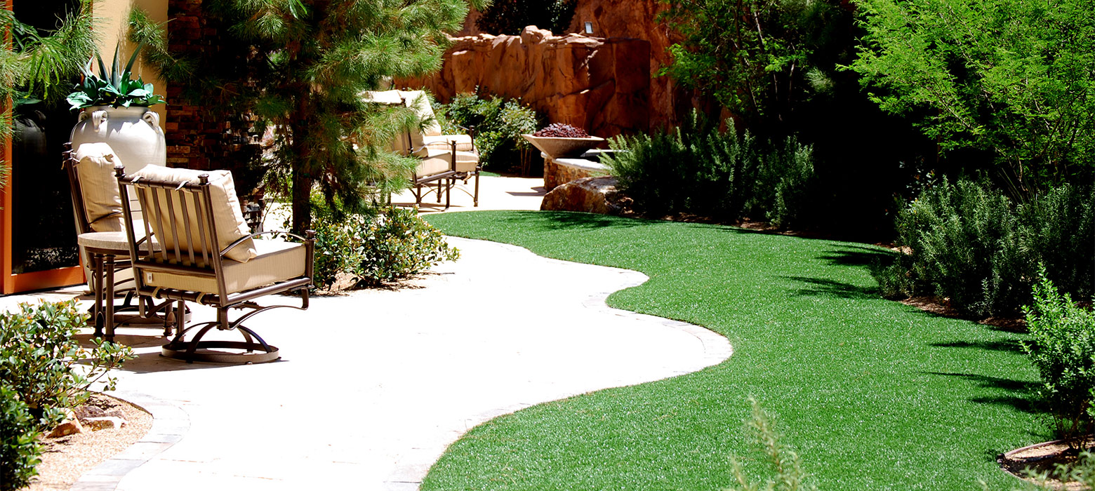 Outdoor Vegas landscaping