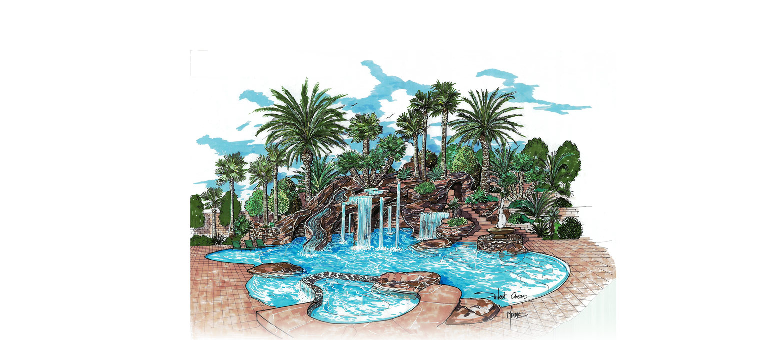 Tropical Las Vegas Landscape Design